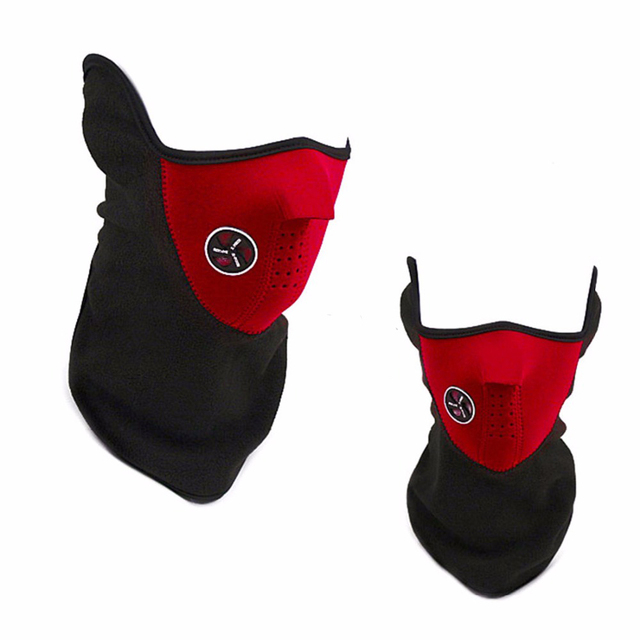 High Quality Motorcycle Face Mask Cover Fleece Unisex Ski Snow Moto Cycling Warm Winter Neck Guard Scarf Warm Protecting Maske 3