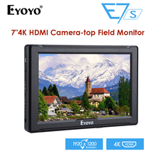 E7S 7 Inch Utra Slim IPS Full HD 1920x1200 4K HDMI SDI On-camera Video Field Monitor for BMPCC Canon Nikon Sony DSLR Camera lilliput a7s 7 ultra slim ips full hd 1920 1200 4k hdmi on camera video field monitor for canon nikon sony dslr camera video