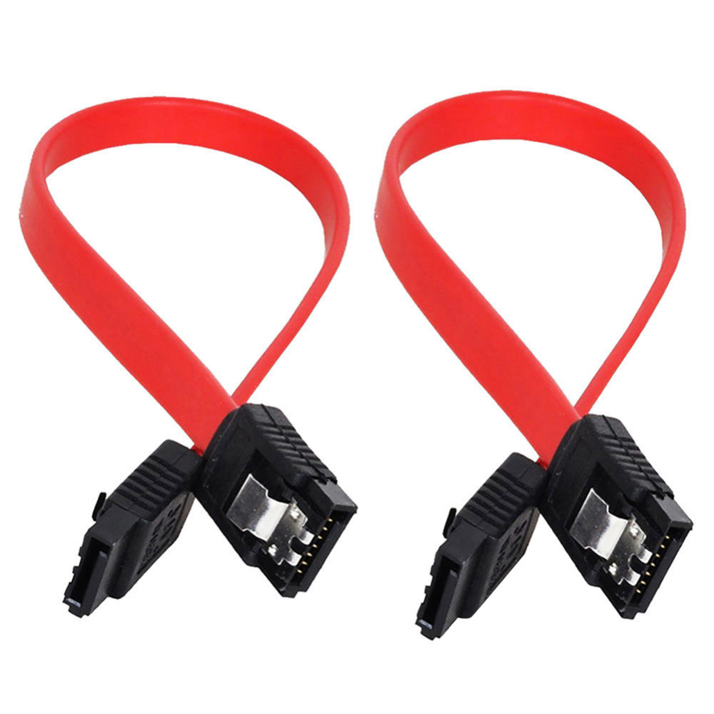 Wholesale SATA 2.0 Cable SATA II Data Cable Straight Hard Drive Data Cable Red Cord SAS Cable Dual Channel 3GB/S gadget(China)