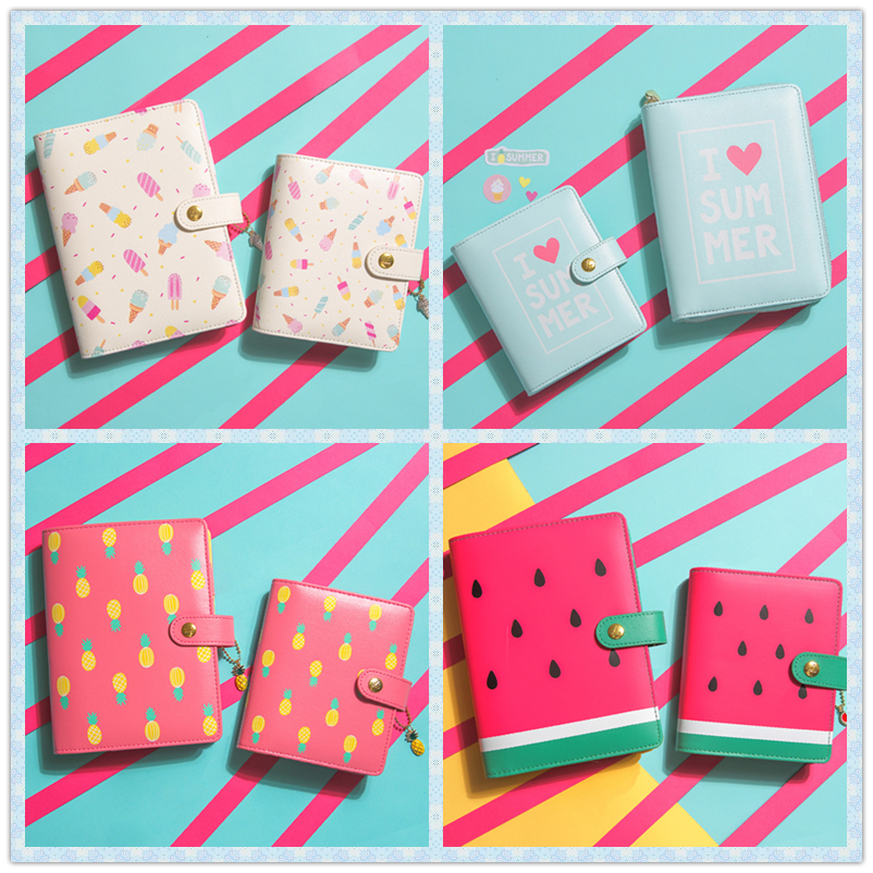 Lovedoki Candy Colors Hello Summer Personal Diary Planner Kawaii Cute Creative Notebook Sweet Agenda Organizer Gifts Stationery