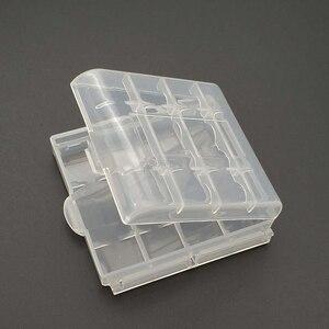 Caja de plástico, caja de almacenamiento, cubierta para 14500 10440, caja de baterías AA AAA, caja de contenedor, caja, caja tipo organizador
