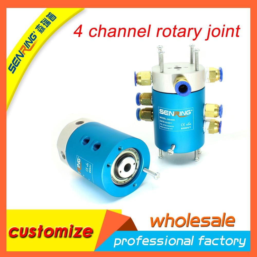 Senring 4 passages rotary union , rotary joint цены онлайн