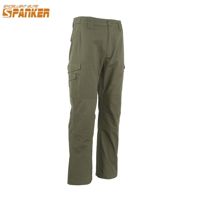 4f7645ac0d8d4 EXCELLENT ELITE SPANKER Men Jogger Cargo Pants Tactical Army Camouflage  Trousers Outdoors Military Cargo Pant Splash-proof Water