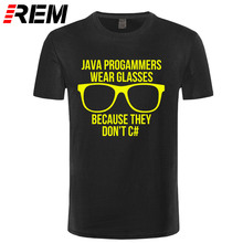 Java Programmer Short Sleeve T-shirt Teenage Hip Hop Camisa 100% Cotton O-neck Men T Shirt For Group