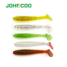 JOHNCOO Fishing Lure 60mm/1.2g 94mm/4.2g Soft Bait Vivid Swimbait Fishing Lures Shad Worm Artificial Fishing Bait Bass Pike Lure(China)