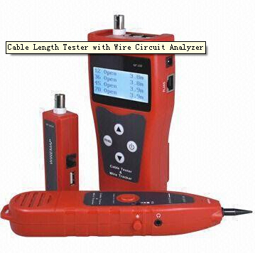 wire break - CCTV BNC cable length tester with Wire Circuit Analyzer  network coaxial telephone USB cables testing break-point