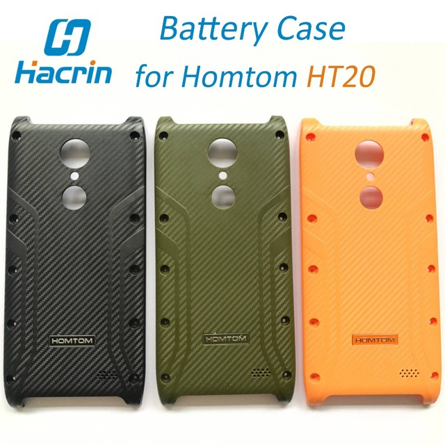 HOMTOM HT20 Battery Case Housing Replacement Slim Protective Plastic Battery Cover for HOMTOM HT20 Pro