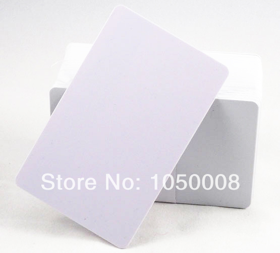 100pcs/lot Inkjet Print blank PVC printable card for Epson printer, Canon printer 20pcs lot double direct printable pvc smart rfid ic blank white card with s50 chip for epson canon inkjet printer