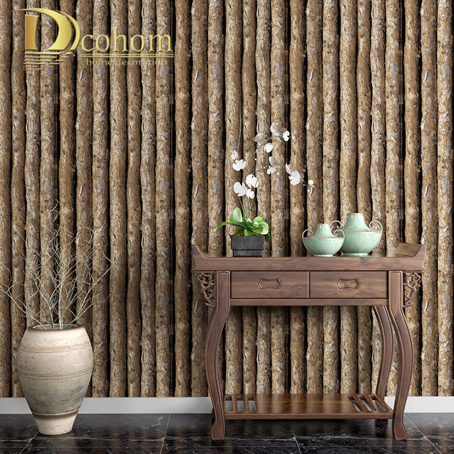 imitation bark wallpaper Tree pattern living room study background simple three-dimensional pvc wood wallcovering hot sale phellodendron amurense bark extract amur cork tree bark extract 700g