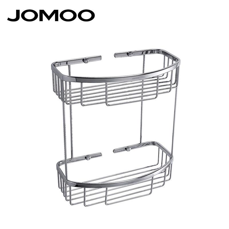 JOMOO полка для ванной двухъярусная полочка для ванной полка настенная душевая стойка полочка в ванную