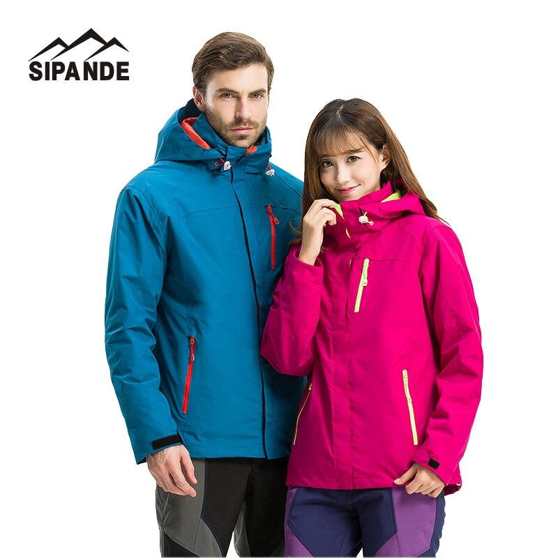 Popular Men & Women's Winter Windproof thick Inner Fleece Jacket Outdoor ski snowboard Sport Coat Hiking Camping Male clothes цена и фото
