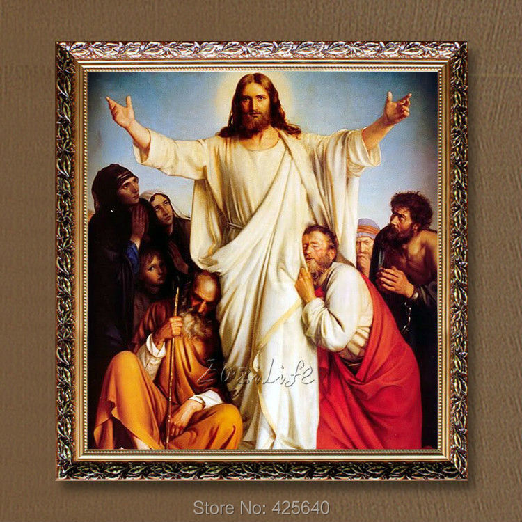 Home Interior Jesus: ヾ(^ ^)ノHome Decor Jesus ᗖ Christ Christ Painting Jesus