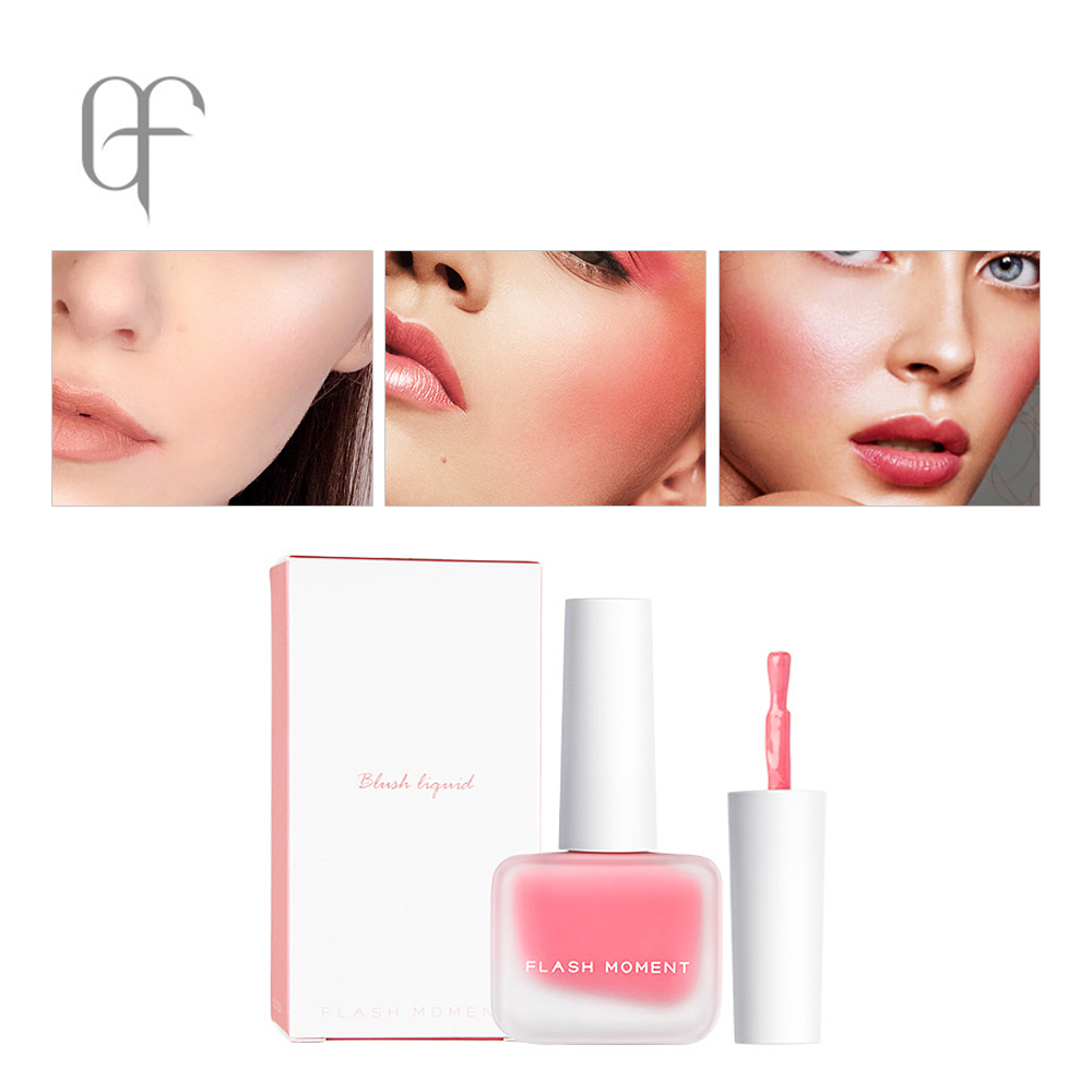 FlashMoment Hotest Liquid Blush Long Lasting Natural Blush Face Contour Makeup Waterproof Blusher Cosmetics Women Face Make up in Blush from Beauty Health