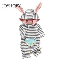 Baby Rompers Spring Autumn Long Sleeve Newborn Baby Boy Girl Costume Romper Cute Fox Baby Clothes