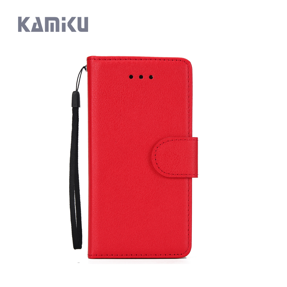 KAMIKU Brand Cover For LG K10 2018 Case Cell Phone Case For LG K10 2018 Cover Mobile Accessories With Card Holder Case