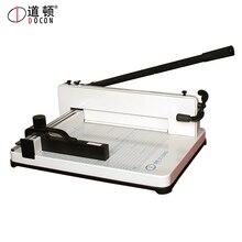 DC-3204SQ ручной Рабочий стол A4 размер бумажный резак, триммер для бумаги, машина для резки бумаги