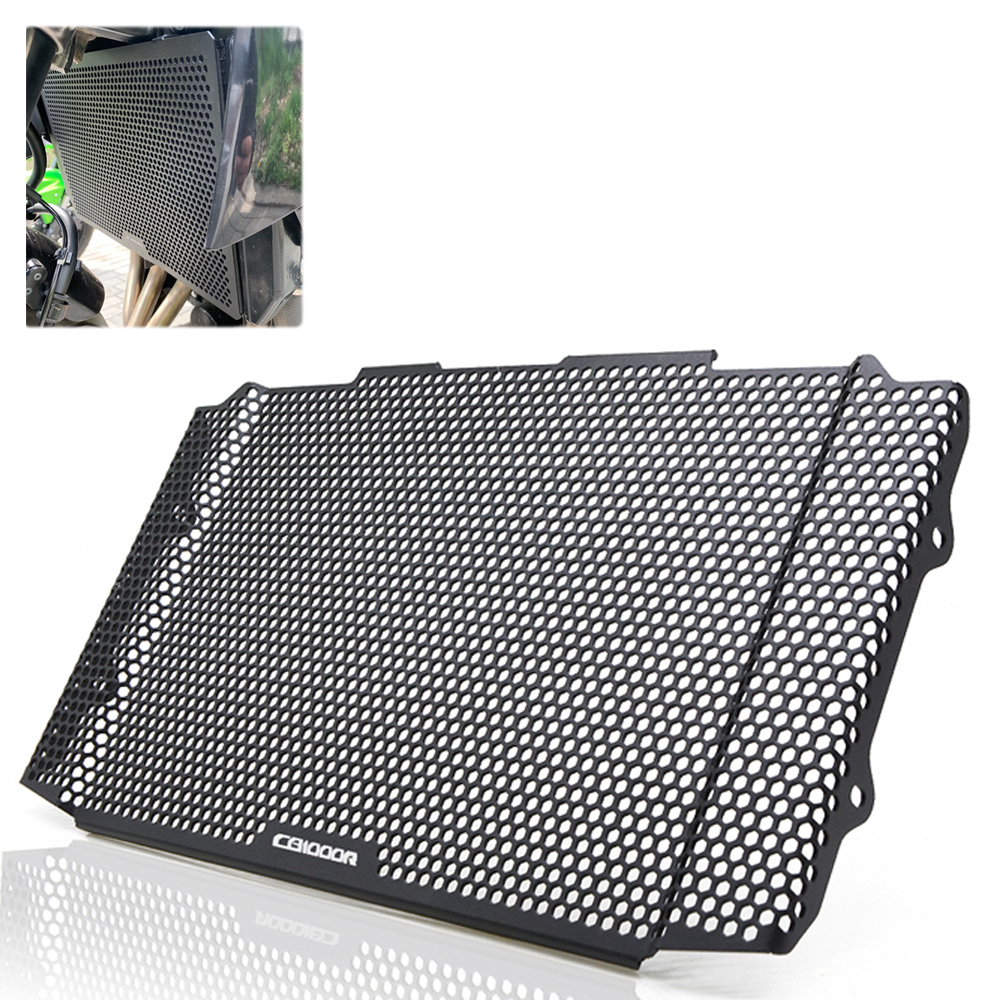 For Honda <font><b>Cb1000r</b></font> <font><b>CB1000R</b></font> Cb100R <font><b>2018</b></font> 2019 Radiator Protective Cover Guards Radiator Grille Cover Protecter image