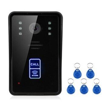 Porta Con Schermo Metallico | SmartYIBA APP Remote Di Controllo RFID Video Citofono 7 Pollici Monitor Wifi Wireless Video Telefono Del Portello Del Campanello Sbloccare Citofono Di Sistema