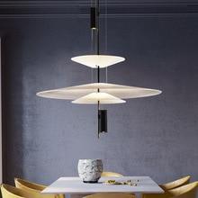 Special Personality Umbrella LED Pendant Lights Spain Art Designer Hanglamp Nordic Living Room Restaurant Hanging Light Fixtures