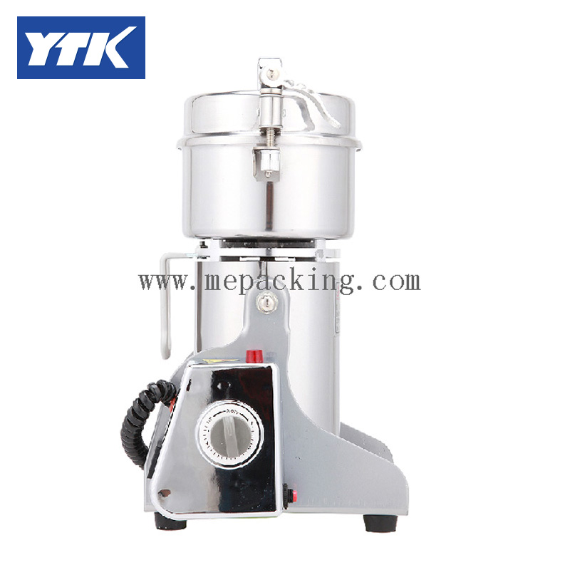 YTK 500 G Swing Stainless Steel Electric Medicine Grinder Mill Small Ultrafine Powder Machine