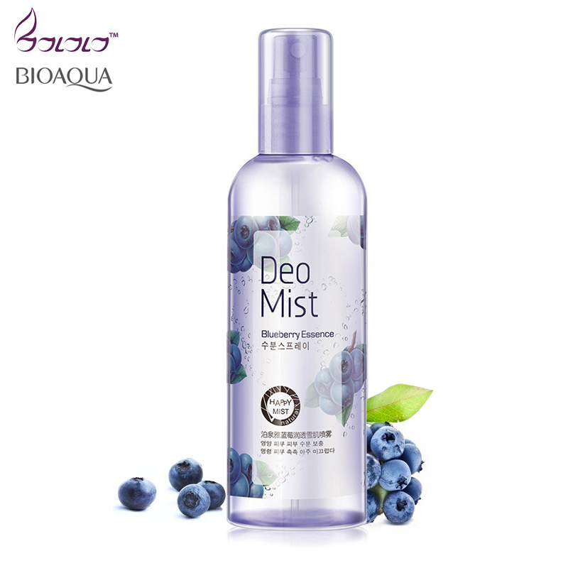 bioaqua Blueberry wonder essence spray skin moisturizer oilcontrol shrink pore face skin care skinfood skin toner moist