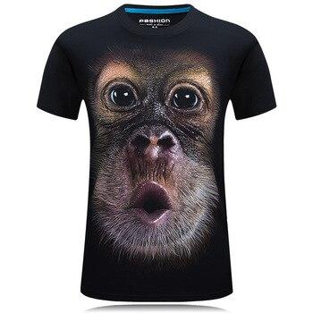 3D Print Monkey T-Shirt