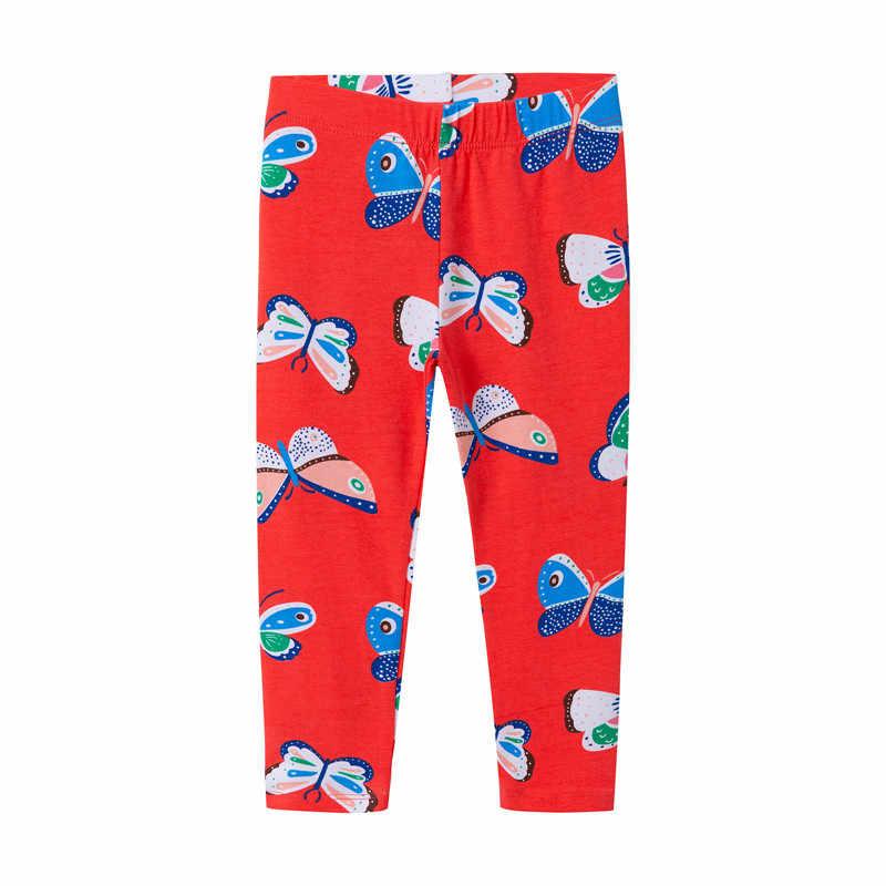 Nhảy mét Trẻ Em Quần Legging Kỳ Lân Quần Thu Đông Xuân trẻ em bé gái quần áo cotton động vật in hình quần cho bé gái