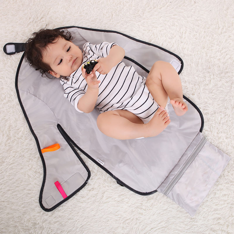 Multifunctional Portable Baby Diaper Pad Can Be Stored And Folded Waterproof Baby Daily Necessities Urine Pad For Changing Pad