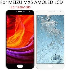 """Image 4 - 5,5 """"AMOLED для MEIZU MX5 M575M M575H ЖК дисплей кодирующий преобразователь сенсорного экрана в сборе запасная часть 100% протестированные Бесплатные инструменты"""