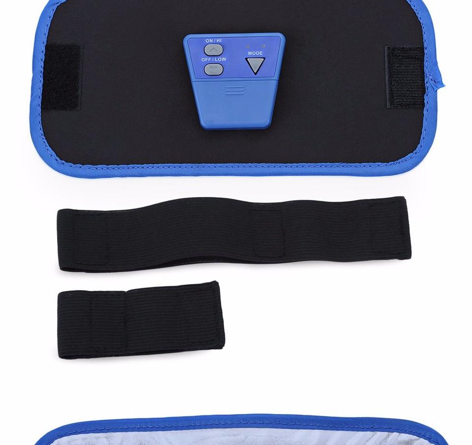 17 Slimming Electronic Belt Body Muscle Arm leg Waist Abdominal Massage Exercise Belt 6