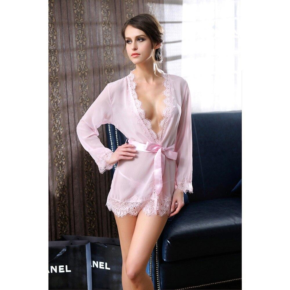 Popular Sheer Lingerie Robes-Buy Cheap Sheer Lingerie Robes lots ...