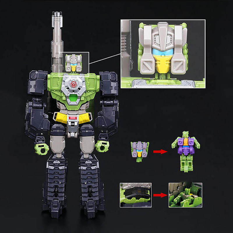 Transformation Weijiang Headmaster Highbrow Skullcruncher Hardhead Brainstorm Mindwipe Chromedome Action Figure Toy Gift Diehard james martin