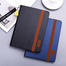 """For iPad 9.7"""" 2017 2018 New Tablets Flip Stand Pocket Wake Smart Cover Hanging rope case Protective For Apple iPad Pro 10.5"""""""