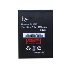 Replacemant Li-ion 3.7V 2000mAh BL8010 Phone Battery for Fly FS501 Nimbus 3 BL 8010 mobile phone in stock+ Track Code(China)