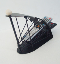 Sailing boat style desktop remote control holder tieyi at home storage rack