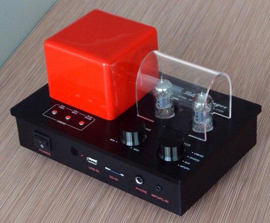 Xiangsheng H-03A hybride 6F1 amplificateur de tube lecteur mp3 clé USB carte SD décodeur préamplificateur ampli casque