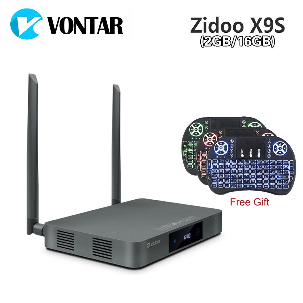 Prix pour [Véritable] zidoo x9s tv box android 6.0 + openwrt (nas) Realtek RTD1295 2G/16G 802.11ac WIFI Bluetooth 1000 M Media Player