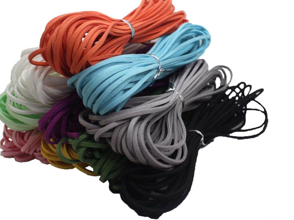 Rope-Thread String Leather Cord Velvet Suede Korean 10-Yards