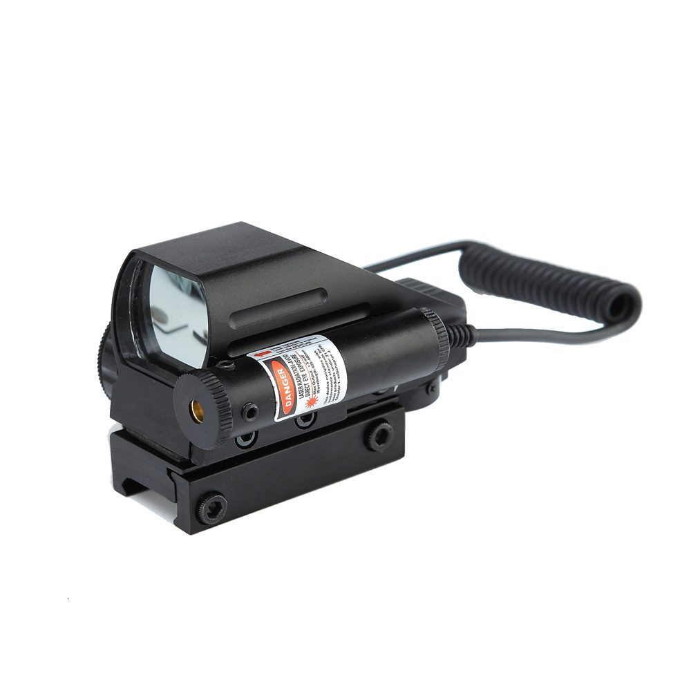 New Combo Red/Green Dot Scope Sight w/ Red Laser Fit Picatinny/ Rail Mount 20mm Free Shipping!