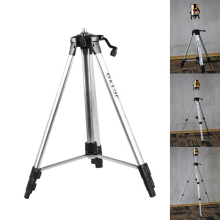 150cm Tripod Carbon Aluminum With 5/8 Adapter For Laser Level Adjustable