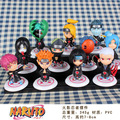 Anime Naruto Akatsuki PVC Minifigures Collectable Figures Model Toys Doll 11pcs/set 6.5cm Gifts for Birthday Christmas