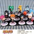 Anime Naruto Akatsuki PVC Minifigures figuras coleccionables modelo juguetes Doll 11 unids/set 6.5 cm regalos para la navidad de cumpleaños