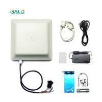 Boom schranke parkplatz access system 6m UHF RFID kartenleser long range Antenne Reader 2-6M Integrative kit