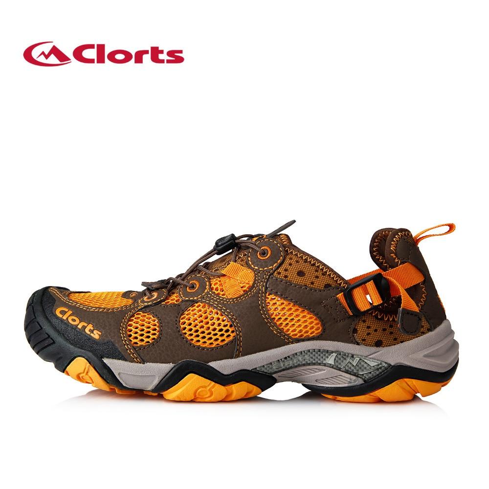 ФОТО 2016 Clorts Aqua Shoes for Men 3H021A/B Summer Quick-drying Mesh Water Sandals Upstream Water Shoes