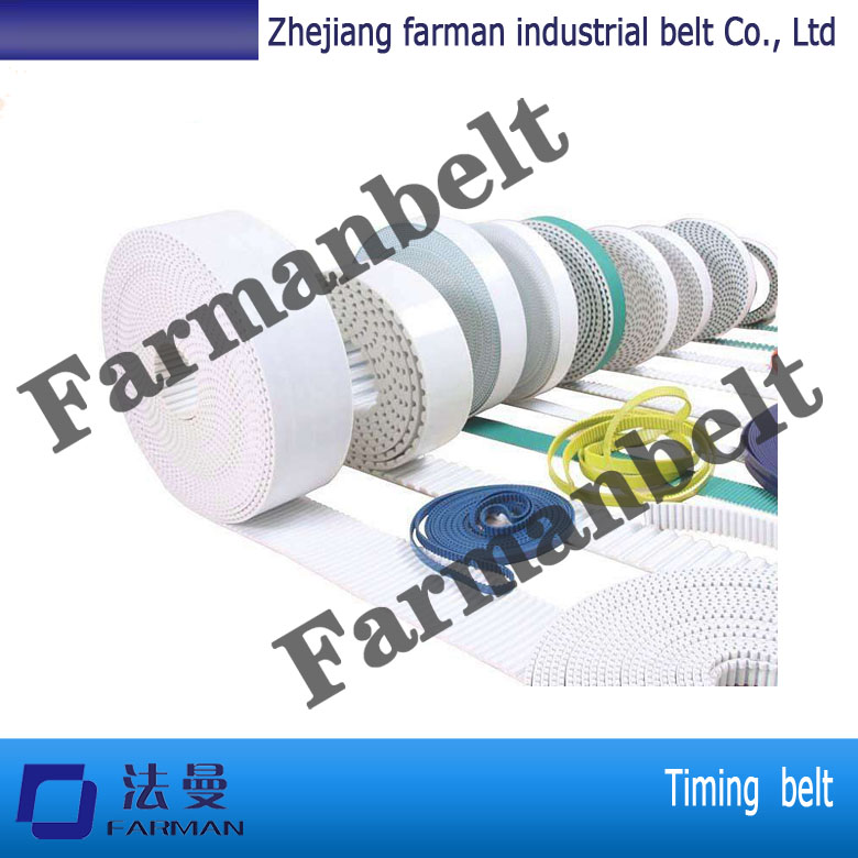 Farman PU TIMING BELT Polyurethane material Made In China T5 T10 AT5 AT10 t10 steel cord pu timing belt