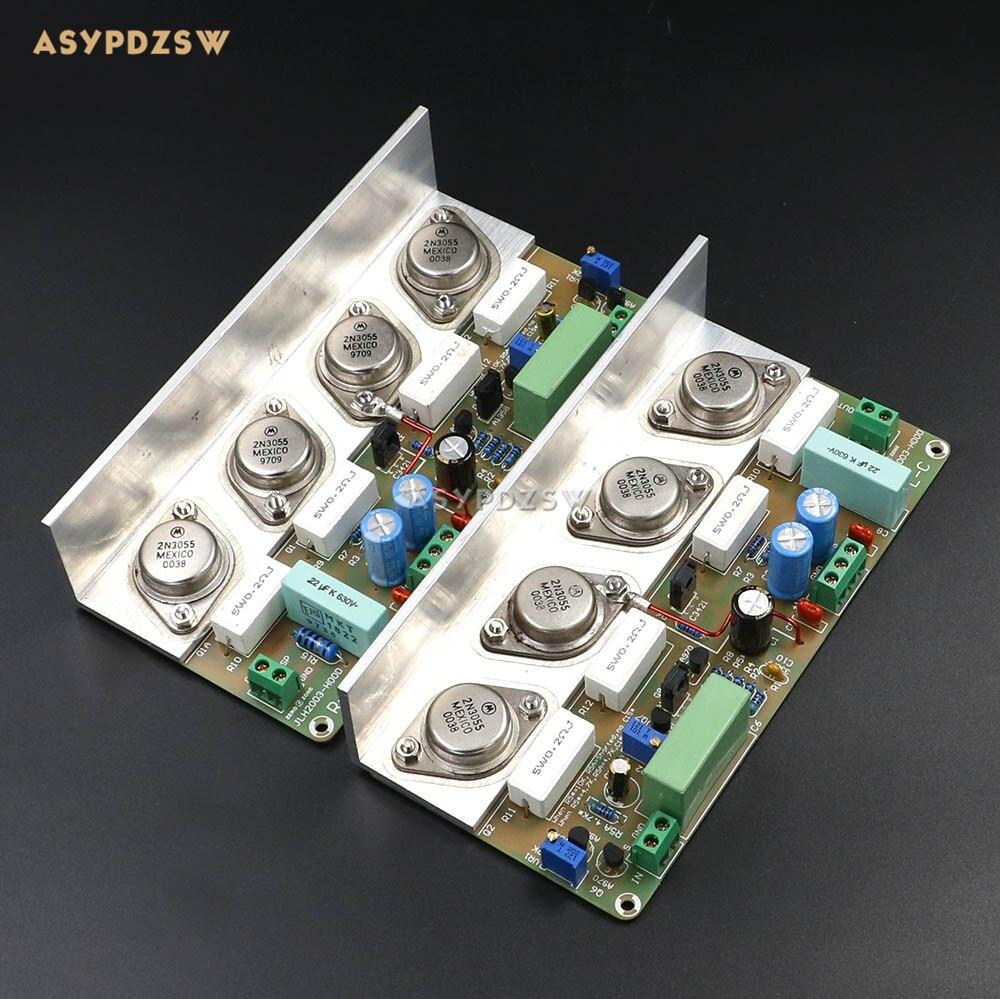 Assembeld HOOD JLH2003 Class A Single ended power amplifier board 2 channel 22W 22W 8ohm