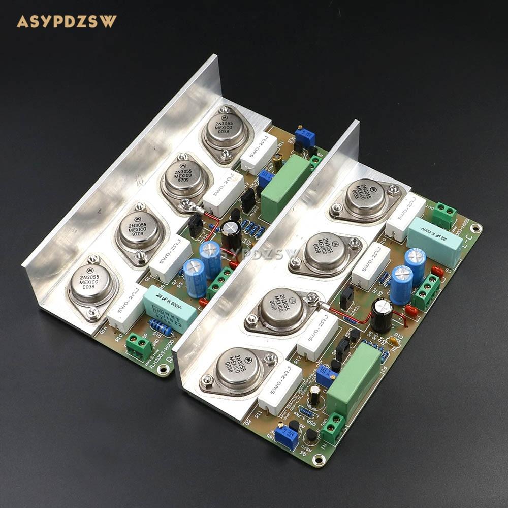 Assembeld HOOD JLH2003 Class A Single-ended power amplifier board (2 channel) 22W+22W 8ohmAssembeld HOOD JLH2003 Class A Single-ended power amplifier board (2 channel) 22W+22W 8ohm