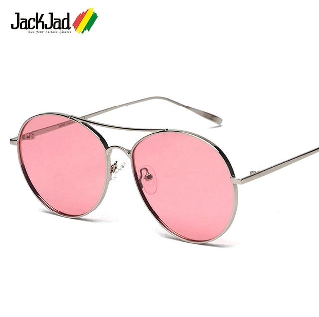 bc09899fd08 JackJad 2018 New Fashion Oval Aviation Style RANNY RING Polarized  Sunglasses Men Women Tint Ocean Lens