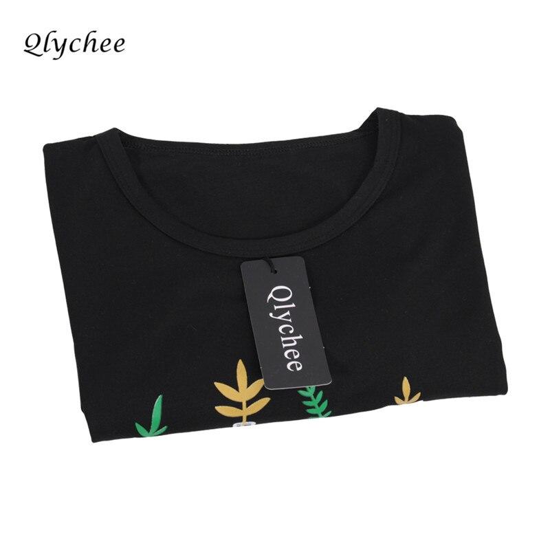 Qlychee Fashion Musim Panas T Shirt Wanita Pakaian Harajuku T-Shirt - Pakaian Wanita - Foto 6