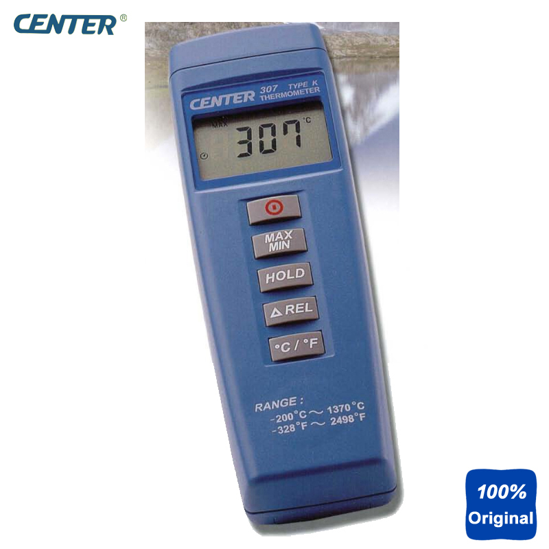Digital Compact Thermocouple Thermometer Low Cost Mini Thermometer CENTER-307 center 307 temperature thermometer with digital mini compact size
